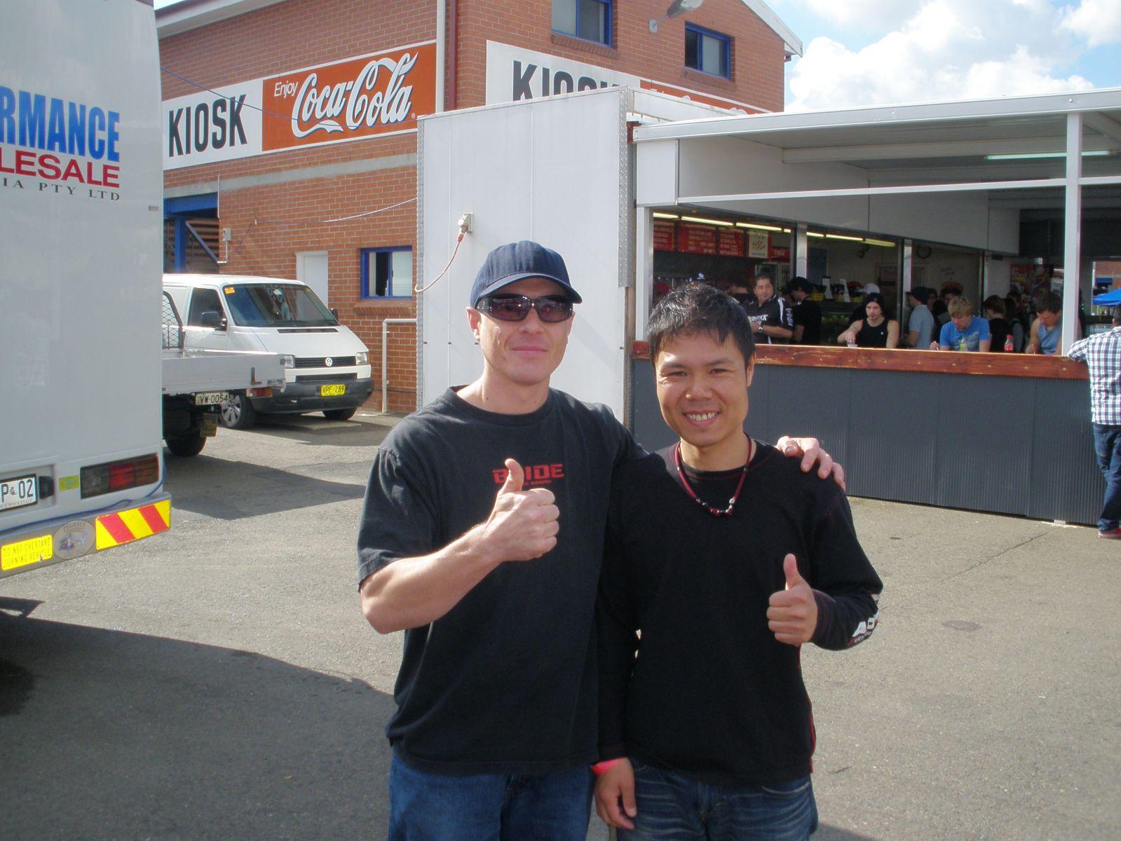 Me and Toshiki Yoshiyoka 2010