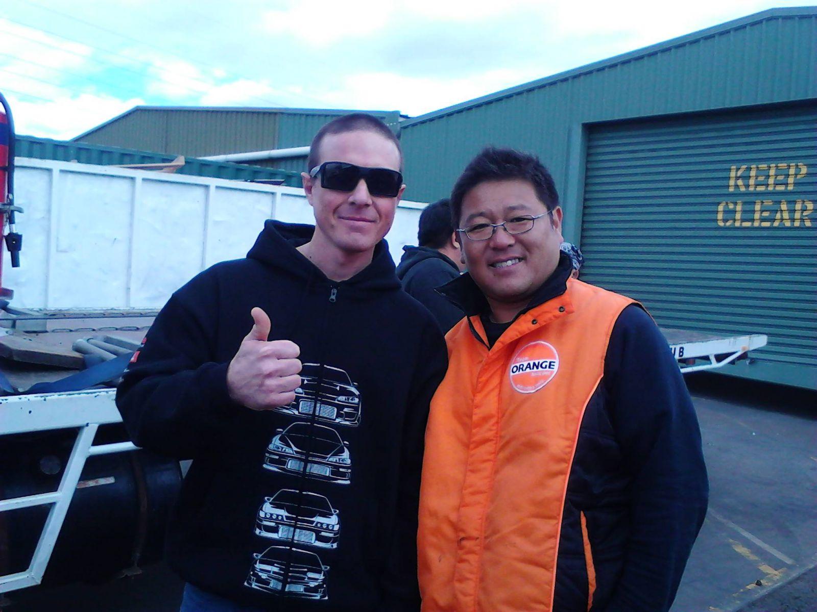 Me And Kumakubo 2012