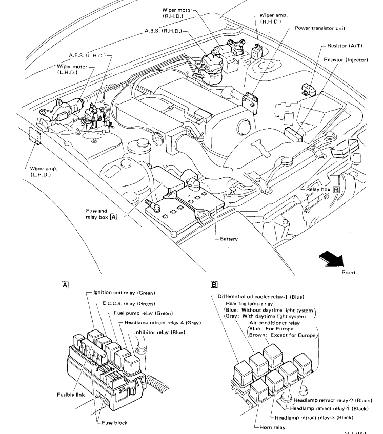 S13 Ka24de Engine Harness