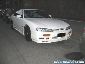 Front View of my Steath S14a